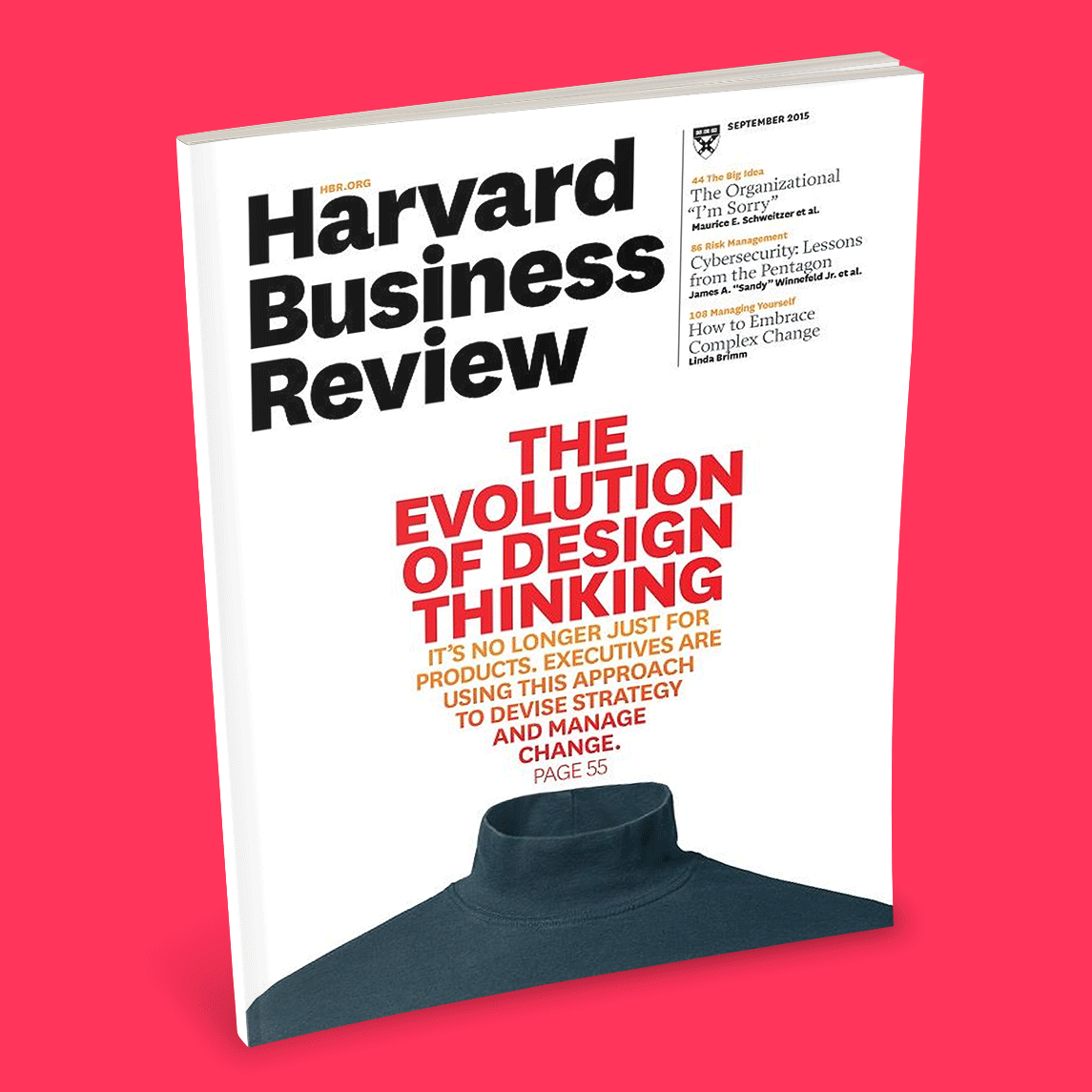 Cover of Sept. 2015 Harvard Business Review